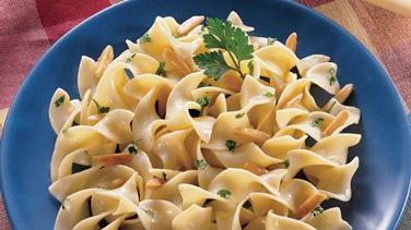 Noodles with Browned Butter and Toasted Almonds