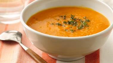 Sweet Potato-Pear Soup