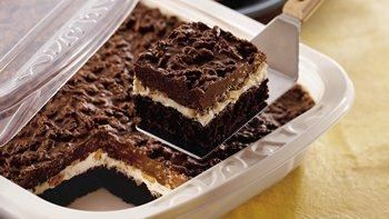Traditional Brownie Goody Bars