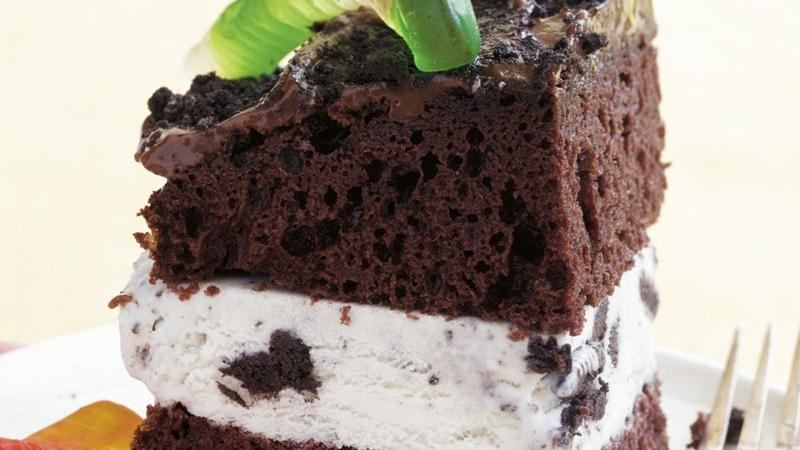 Dirt Ice Cream Cake