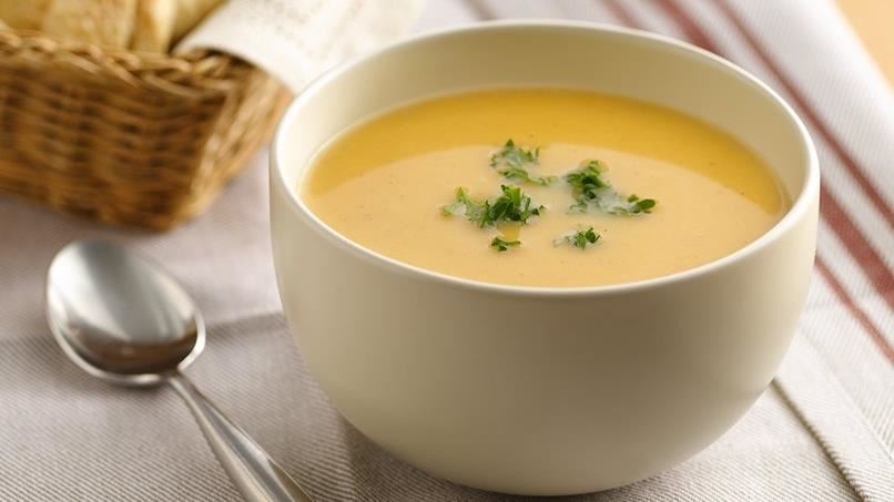 Spiced Apple-Squash Soup (Cooking for Two)