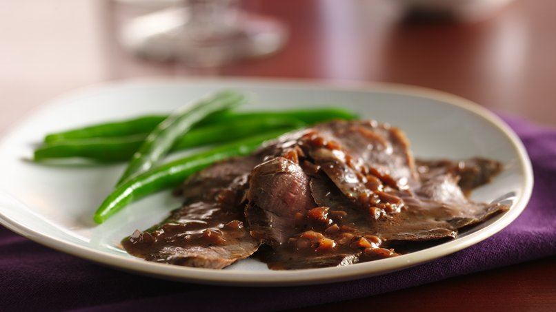 Peppery Red Wine Sauce