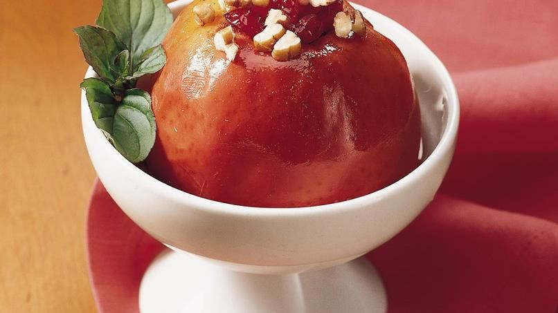 Slow-Cooker Cranberry Baked Apples