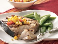 Cajun Grilled Fish Steaks