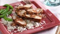 Plum-Glazed Turkey Tenderloins