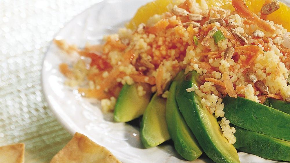 Couscous-Stuffed Avocados