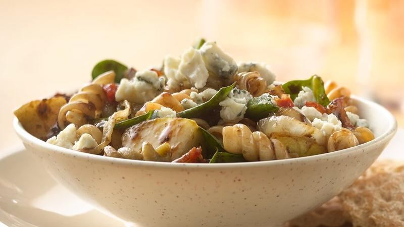 Hot Bacon and Pasta Salad