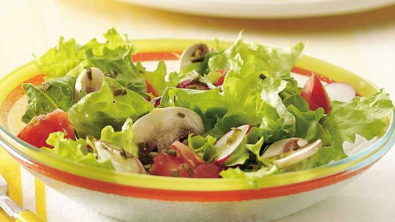 Garden Salad with Herbed Vinaigrette