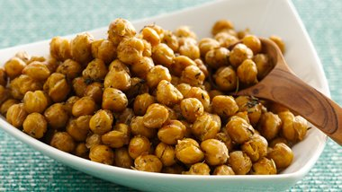 Gluten-Free Herbed Roasted Chick Peas