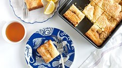 Lemon-Cream Cheese Coffee Cake