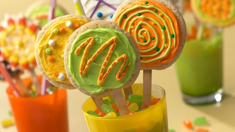 Pop Art Cookie Pops