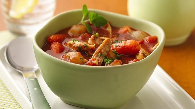 Slow-Cooker Greek Chicken Stew