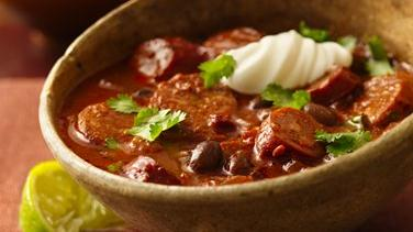 Hot and Spicy Chorizo Chili