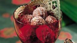 Chocolate-Wine Balls