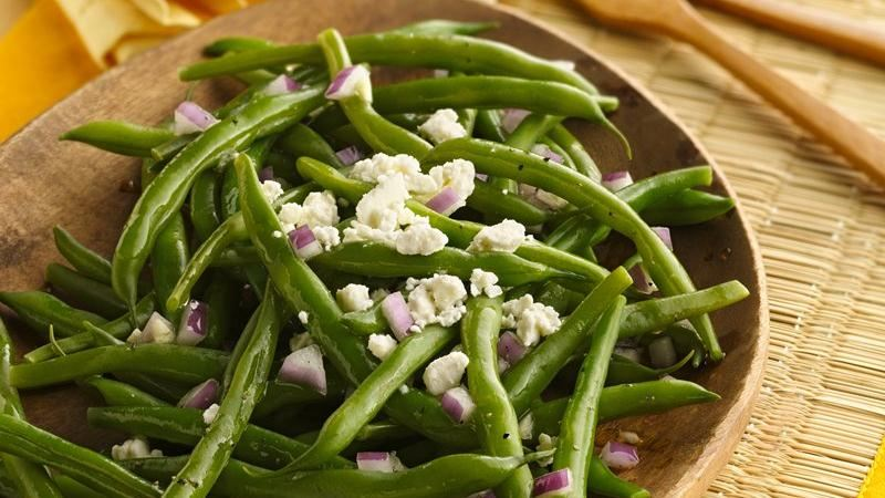 Green Beans with Feta
