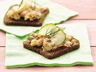 Salmon-Pimiento Appetizers