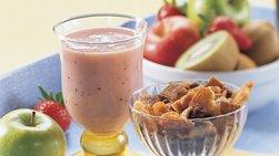 Gluten-Free Strawberry Kiwi Smoothie