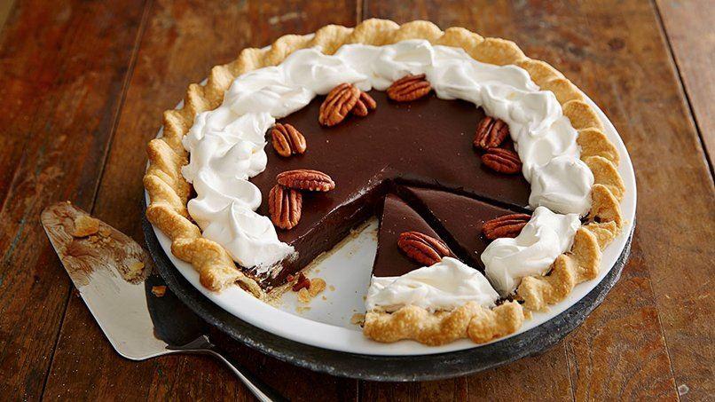 Chocolate Truffle Pie