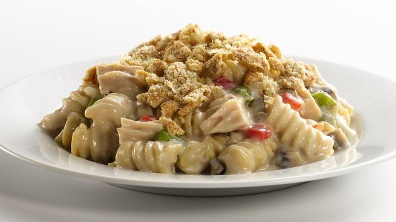 Healthified Tuna-Pasta Casserole