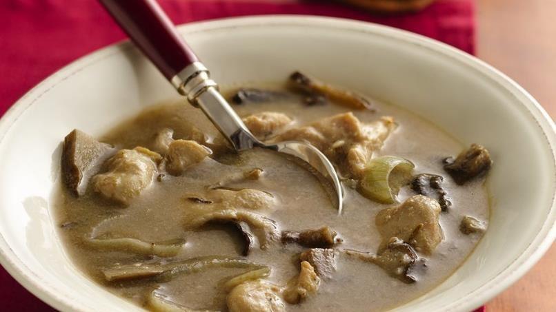 Rosemary-Mushroom Chicken Soup