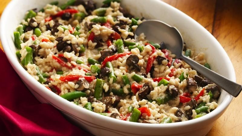 Baked Vegetable Risotto