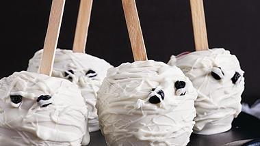 Mummy Head Candy Apples