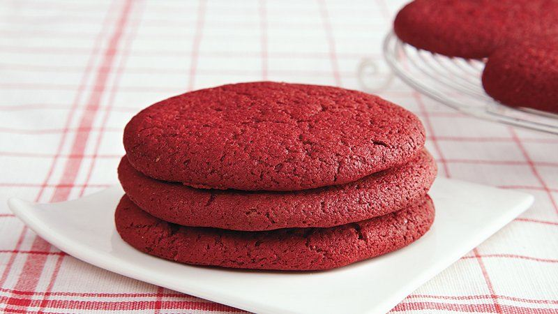 Betty Crocker Red Velvet Cake Cookies Recipe