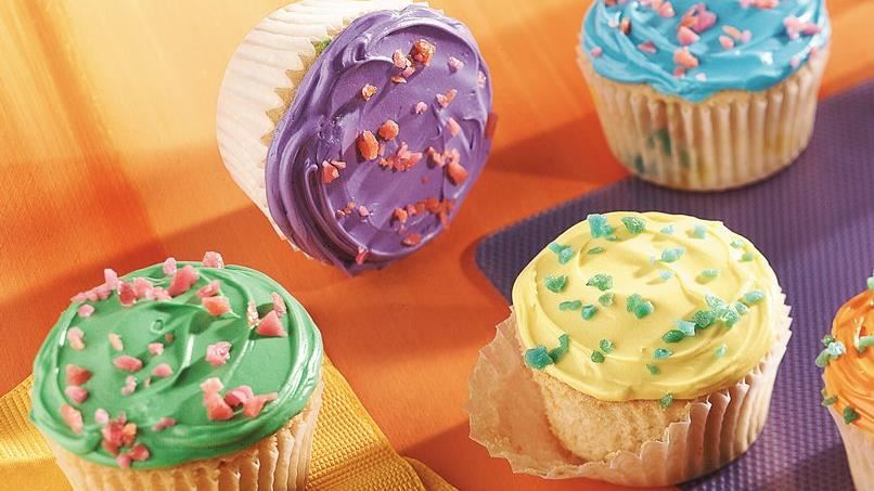 Temptingly Tart Frosted Cupcakes