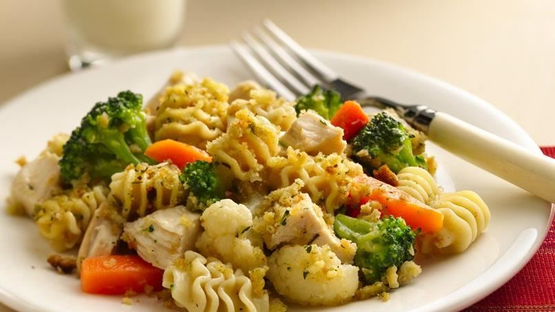 Country Chicken and Pasta Bake