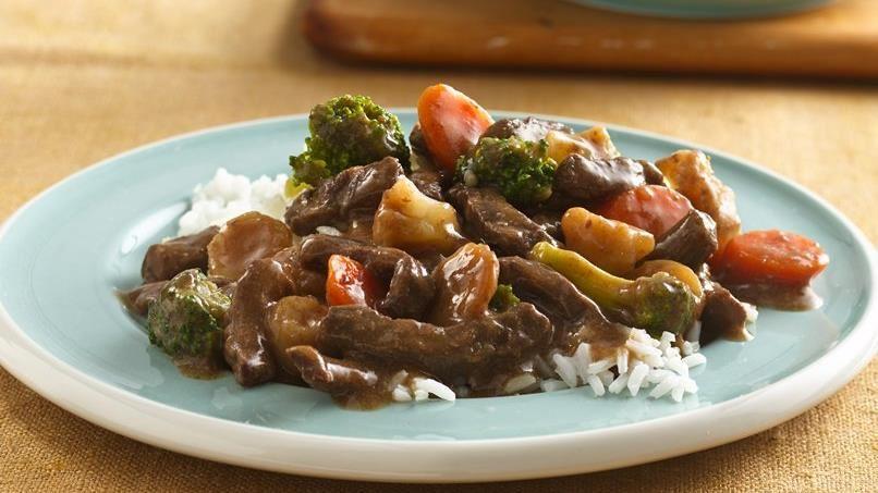 Teriyaki Beef and Vegetables