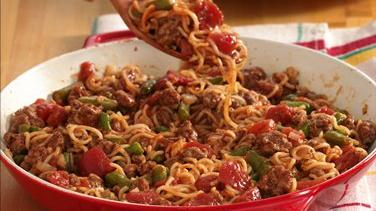 Easy Beef and Noodle Dinner