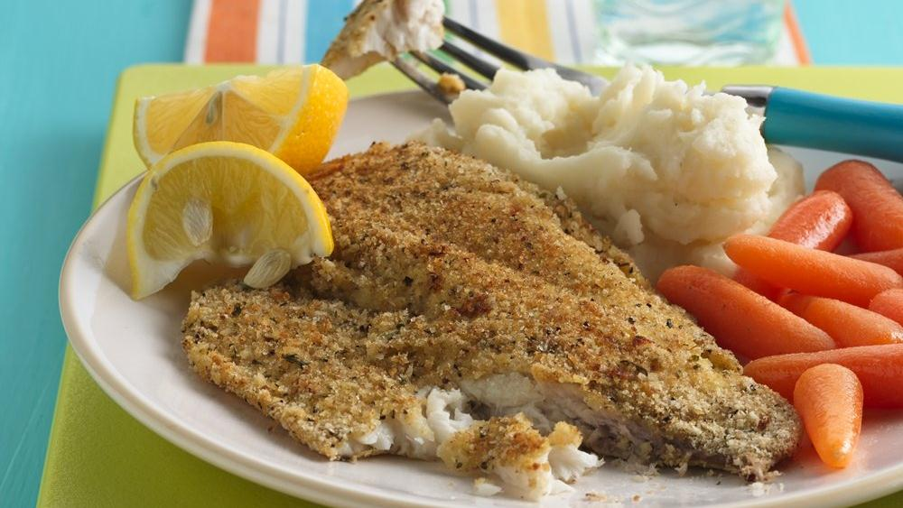 crispy oven baked fish recipe from