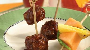 Slow-Cooker Asian Meatballs