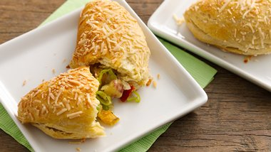Asiago Crusted Potato Piroshki