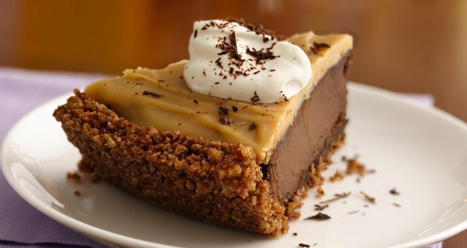 Double Chocolate-Peanut Butter Pudding Pie