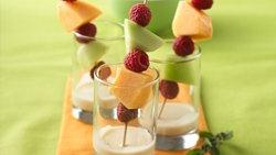 Ginger & Mint Dip with Fruit