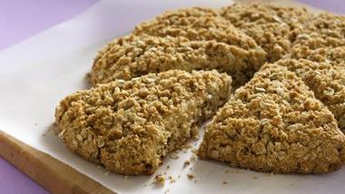 Cinnamon-Oat Scones (Lighter Recipe)