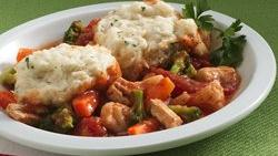 Hearty Chicken Stew with Dumplings (Cooking for 2)