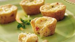 Crab Mini Quiches