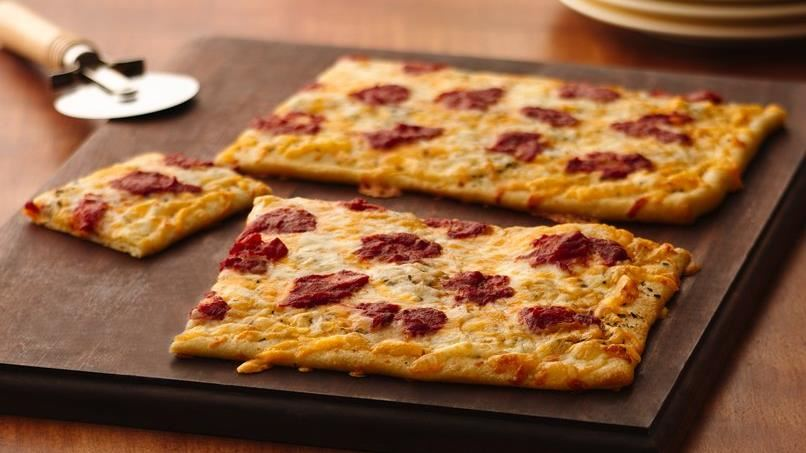 Four-Cheese Pizza