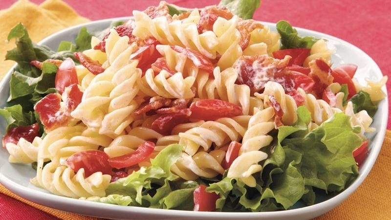 BLT Pasta Salad recipe from Betty Crocker