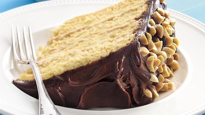 Peanut Butter Silk Cake