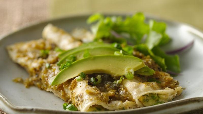 Cheese Enchiladas Verde