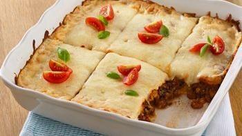 Easy Lasagna Squares