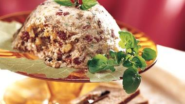 Turkey and Dried Fruit Pâté