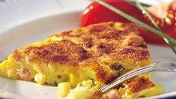 Ham and Corn Frittata