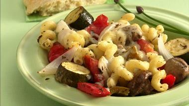 Mixed Roasted Vegetables and Pasta