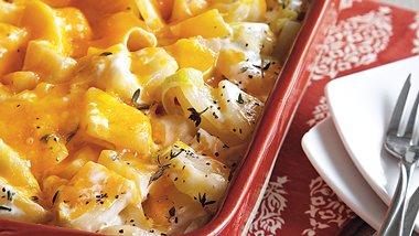 Cheesy Potatoes and Leeks