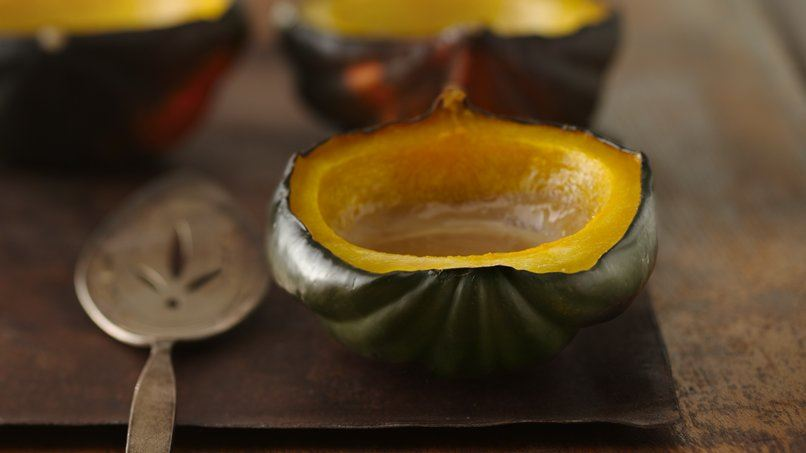 Glazed Acorn Squash