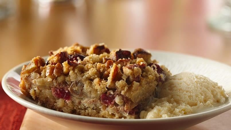 Easy Apple-Cranberry Dessert Squares